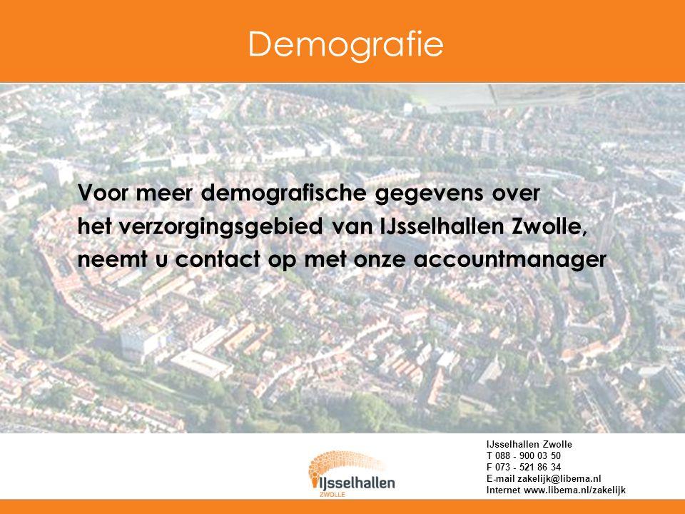 Zwolle biedt vele mogelijkheden Sterk groeiende stad Goed bereikbaar Historische binnenstad Veelzijdig kunst&cultuuraanbod Groenste stad van Nederland in 2005, en van Europa in 2006 Goede hotelvoorzieningen Goede culinaire restaurants