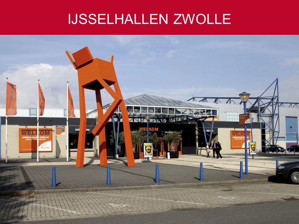 50 tot 10.000 gasten Ruim 4.000 parkeerplaatsen Slechts één uur rijden vanaf Amsterdam, Rotterdam en Antwerpen IJSSELHALLEN ZWOLLE