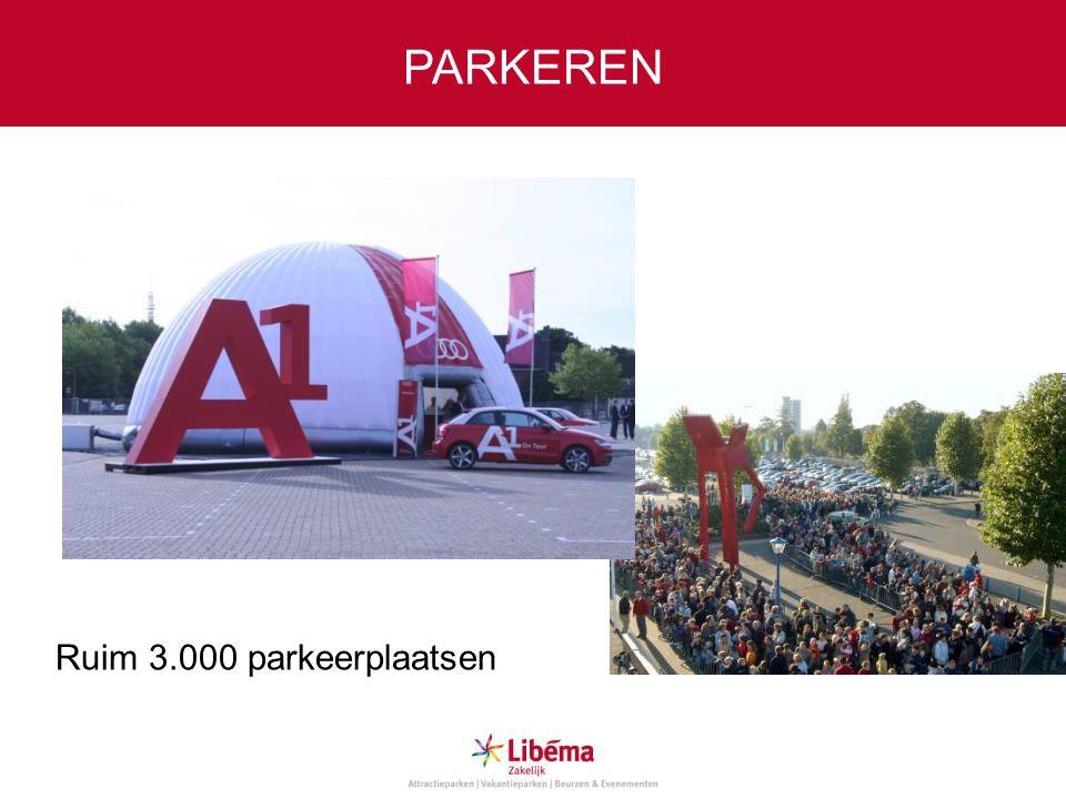 PARKEREN Ruim 3.000 parkeerplaatsen