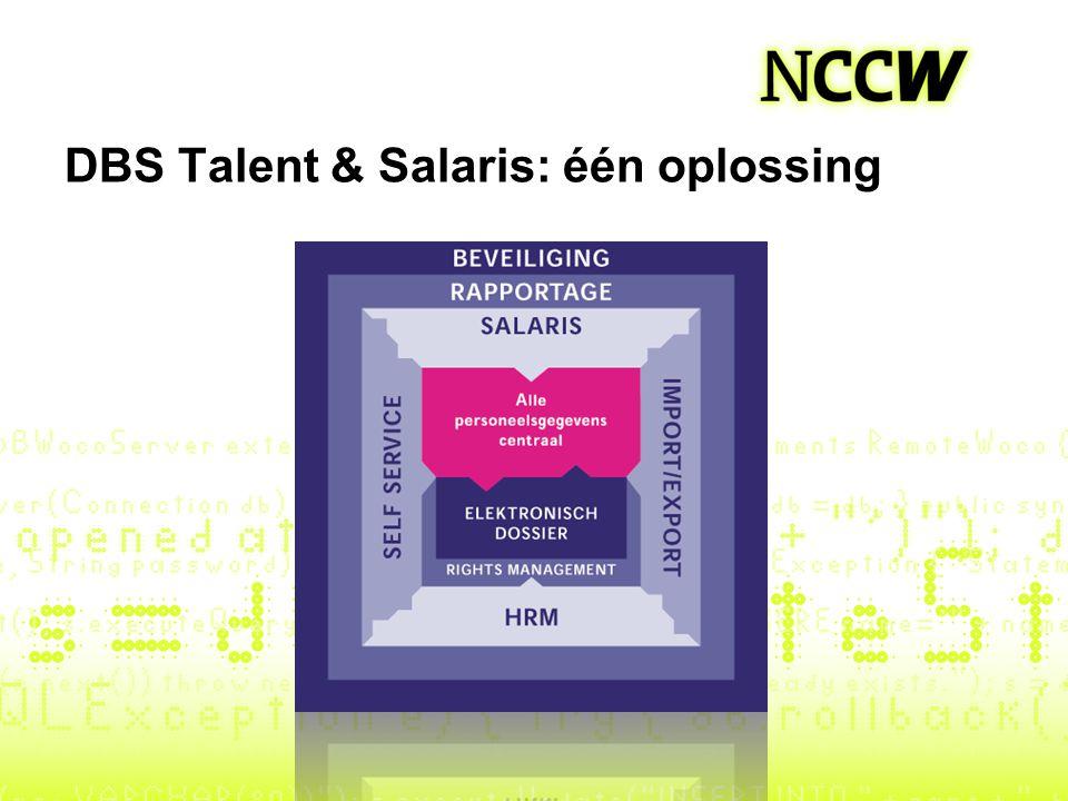 DBS Talent & Salaris: één oplossing