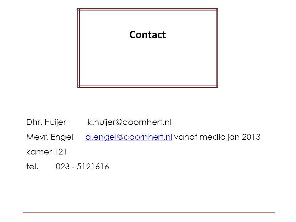 Dhr.Huijer k.huijer@coornhert.nl Mevr.