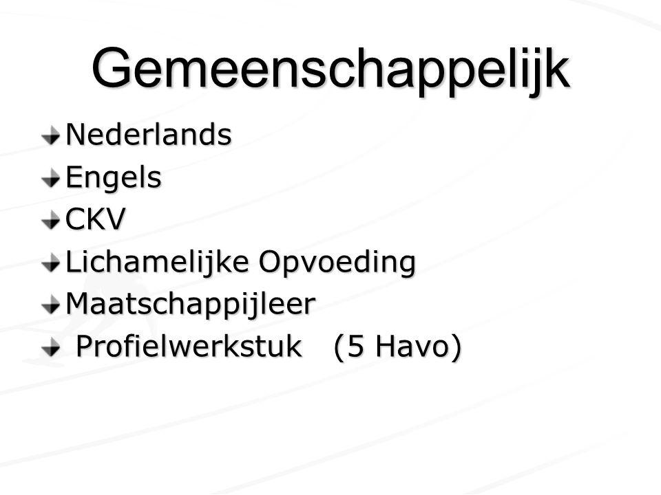 Profiel C&M Duits of Frans Geschiedenis Aardrijkskunde of Economie Keuze uit: Muziek,Tekenen, Drama of Duits/Frans of Duits/Frans