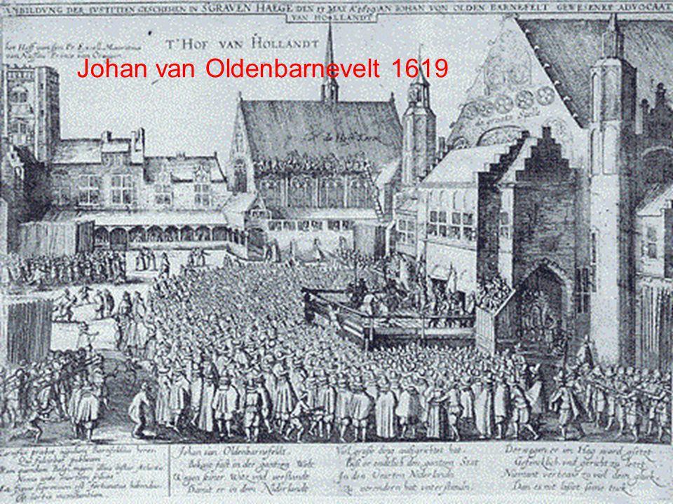 Johan van Oldenbarnevelt 1619