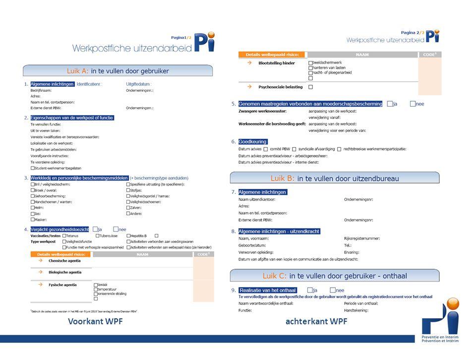 Voorkant WPFachterkant WPF