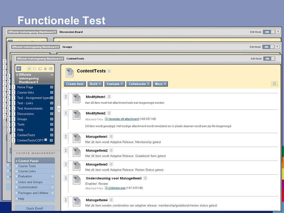 Functionele Test - 230 Testcases - Testcourse (archive file)