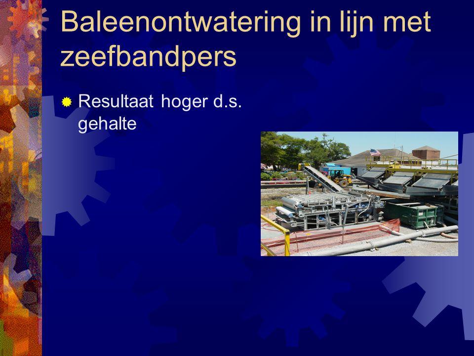 Baleen Rapid Dewatering Systeem  Een nieuwe ontwikkeling op de Nederlandse Markt  Snelle voorontwatering