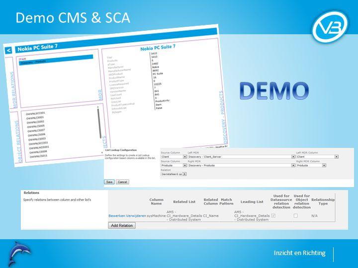 Inzicht en Richting Demo CMS & SCA