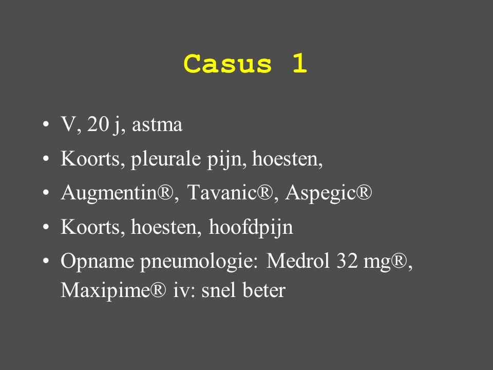 M Wegener: luchtwegen Neus, sinussen, trachea, oor – allergie –bronchitiden –chronische sinusitis / otitis –recidiverende neusbloedingen Longen –Hoest, pleuritis, dyspnoe, hemopthysis