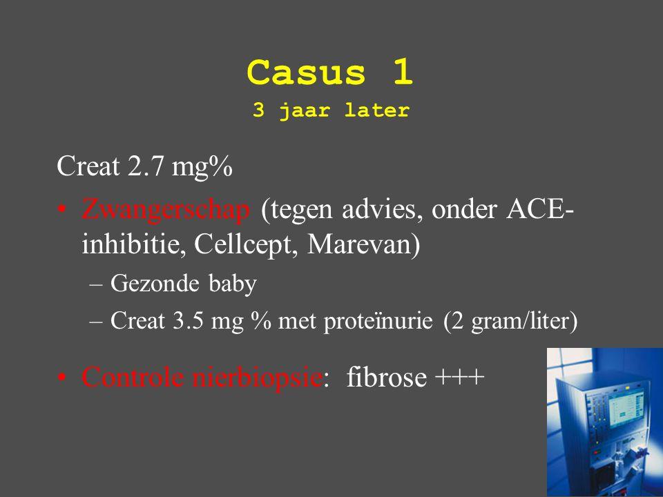 SLE: verruceuse endocarditis 'Libmann Sachs endocarditis' vegetaties op de klep en op de chordae (mitraalklep)