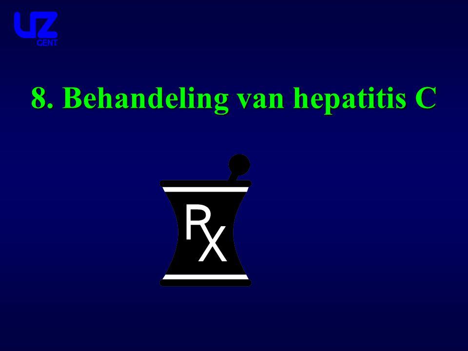 8. Behandeling van hepatitis C