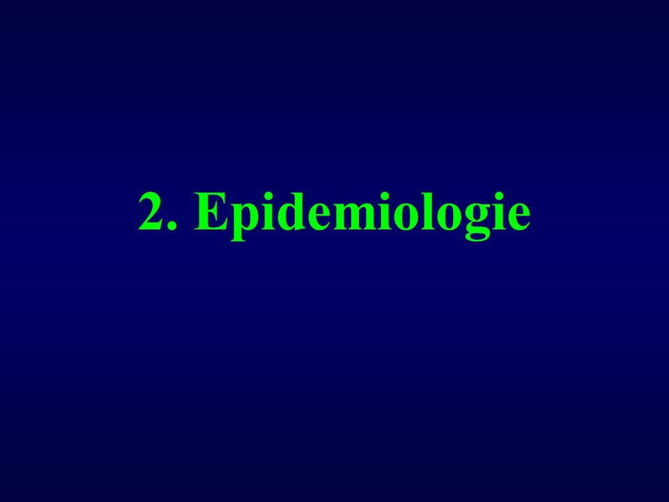 Epidemiologie HCV (1) Prevalentie:Prevalentie: - USA: 1.4% - Africa - Midden Oosten: 4-6% (Egypte: 25%) - Scandinavië - Zwitserland: 0.5% - België - Frankrijk: 1% 170 miljoen mensen besmet: 3% wereldpopulatie170 miljoen mensen besmet: 3% wereldpopulatie 15 000 nieuwe gevallen/jaar in USA15 000 nieuwe gevallen/jaar in USA
