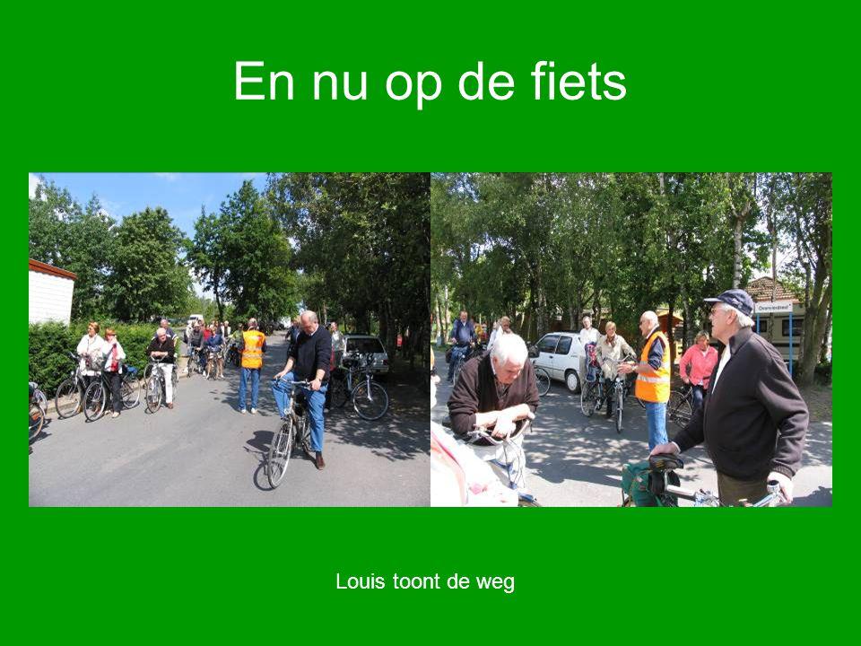 En nu op de fiets Louis toont de weg