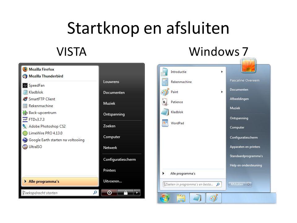 Verkenner VISTA Windows 7