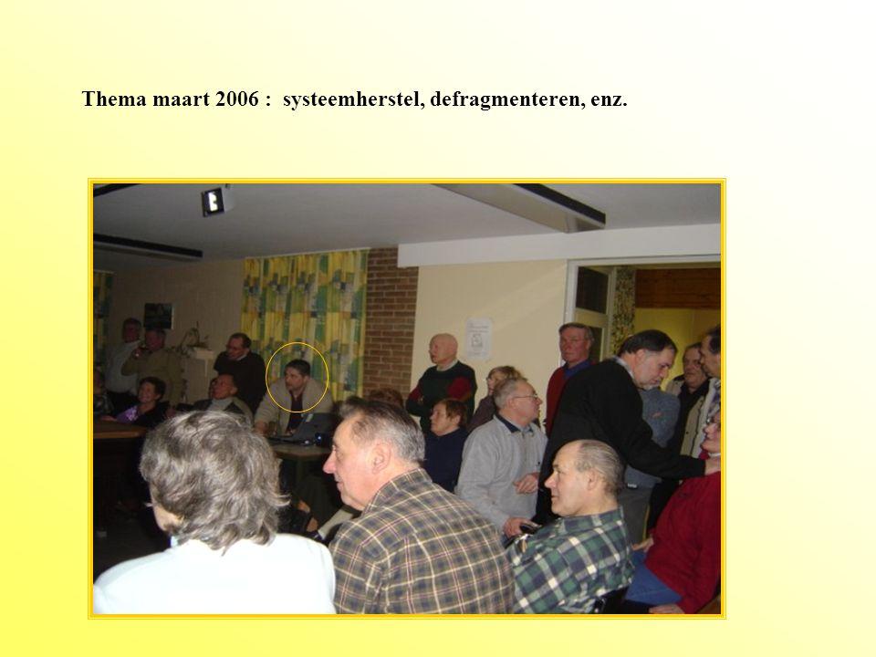 BCC. Topic februari 2006: Op een gemakkelijke manier de mooiste visitekaartjes maken op je pc.