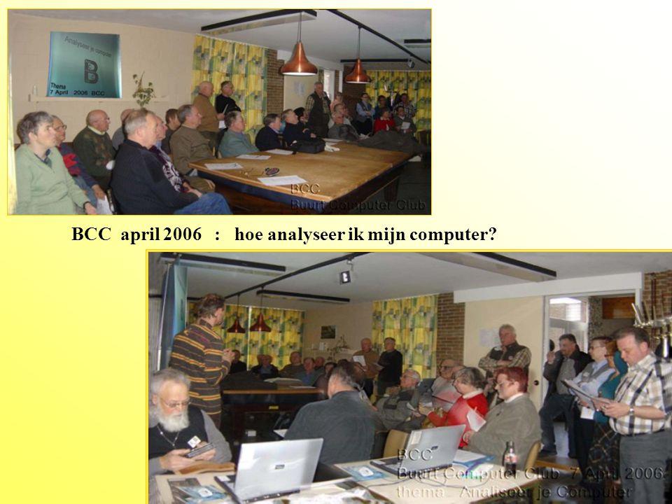 Thema maart 2006 : systeemherstel, defragmenteren, enz.