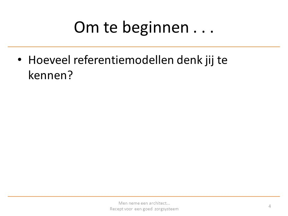 COmmon Reference Architecture IT-Solution Architecture reference model TOGAF fase D en E – Technology architecture – Opportunities and Solutions Men neme een architect...