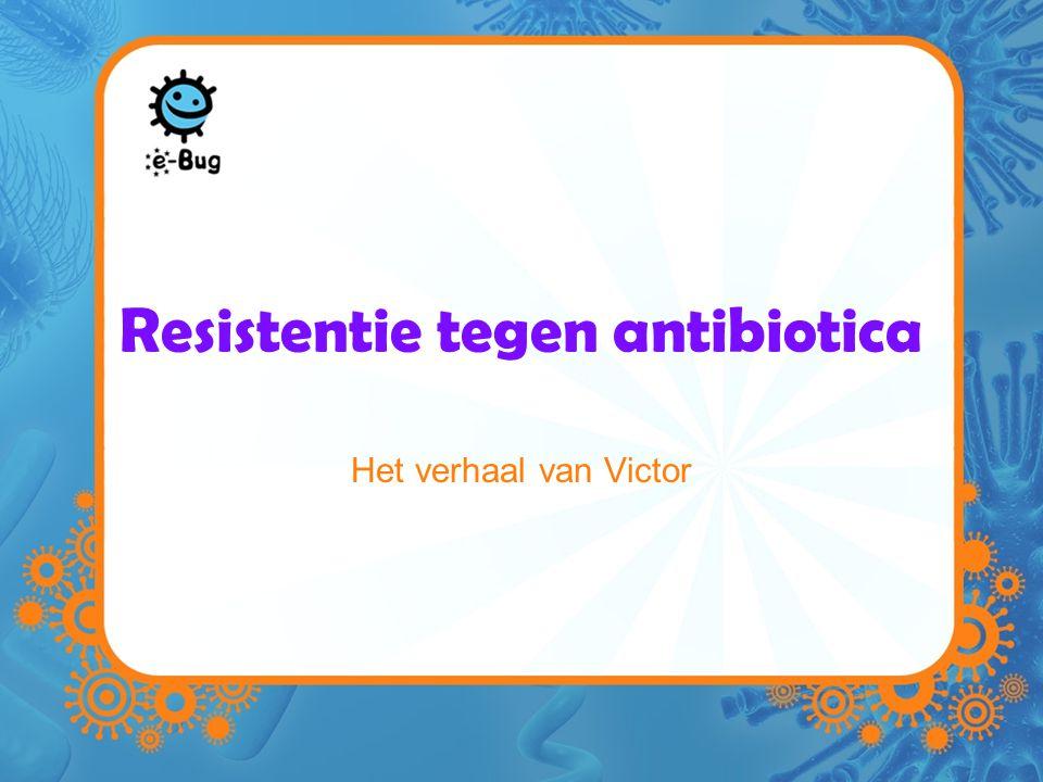 Resistentie tegen antibiotica Het verhaal van Victor