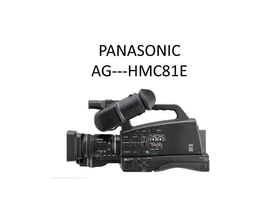 PANASONIC AG--‐HMC81E
