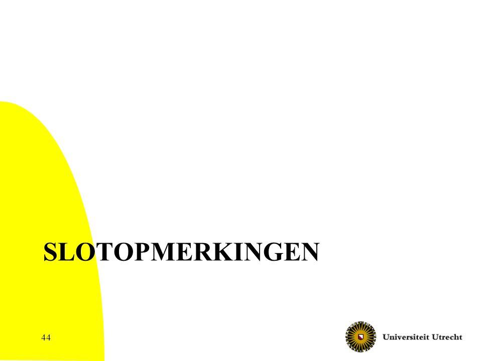 SLOTOPMERKINGEN 44