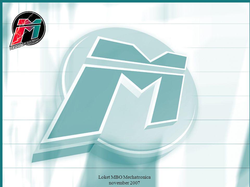 Loket MBO Mechatronica november 2007