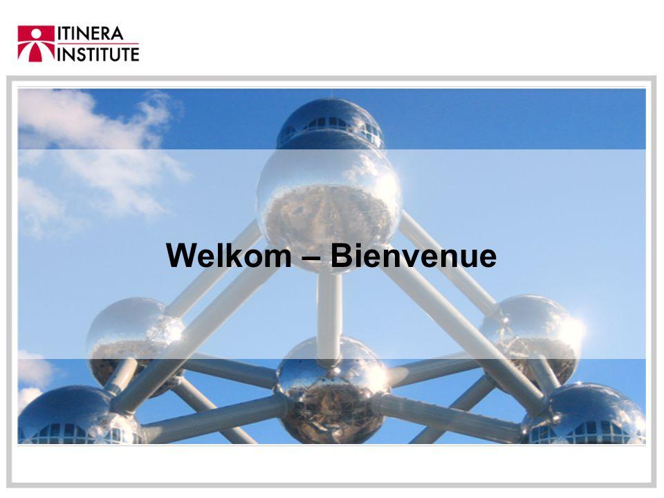 Welkom – Bienvenue