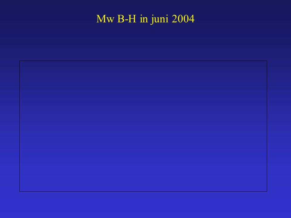 Mw B-H in juni 2004