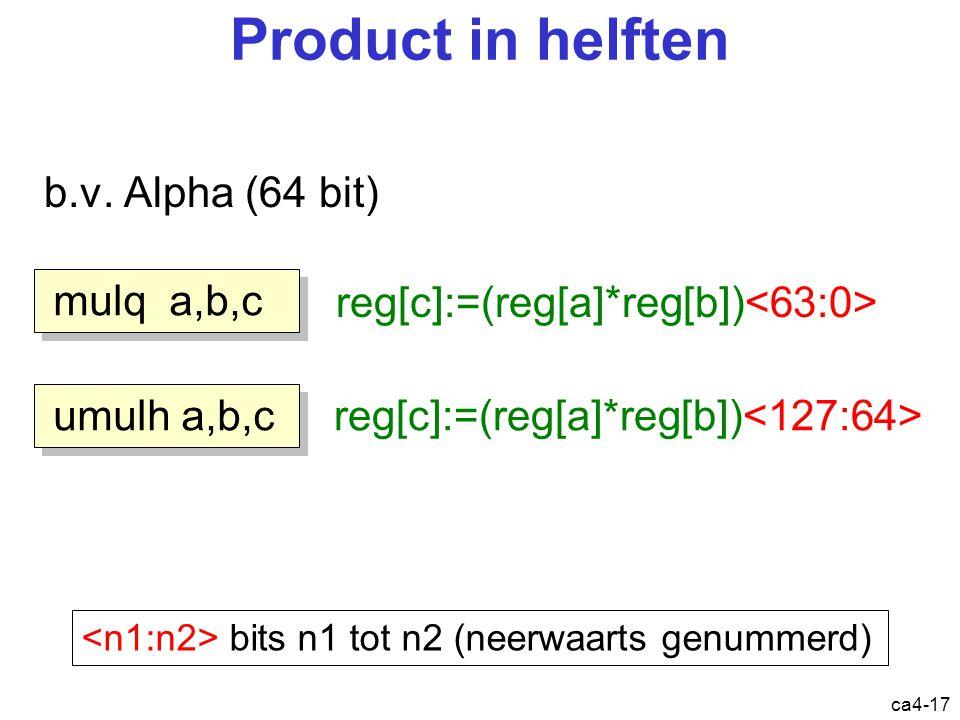 ca4-17 Product in helften b.v.