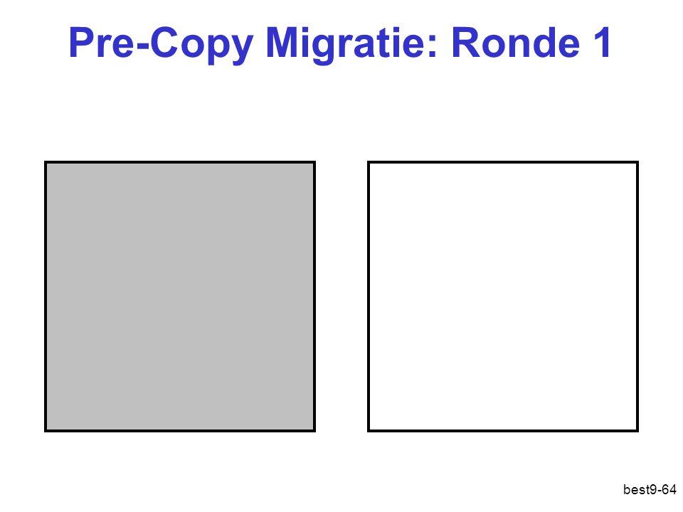 Pre-Copy Migratie: Ronde 1 best9-64