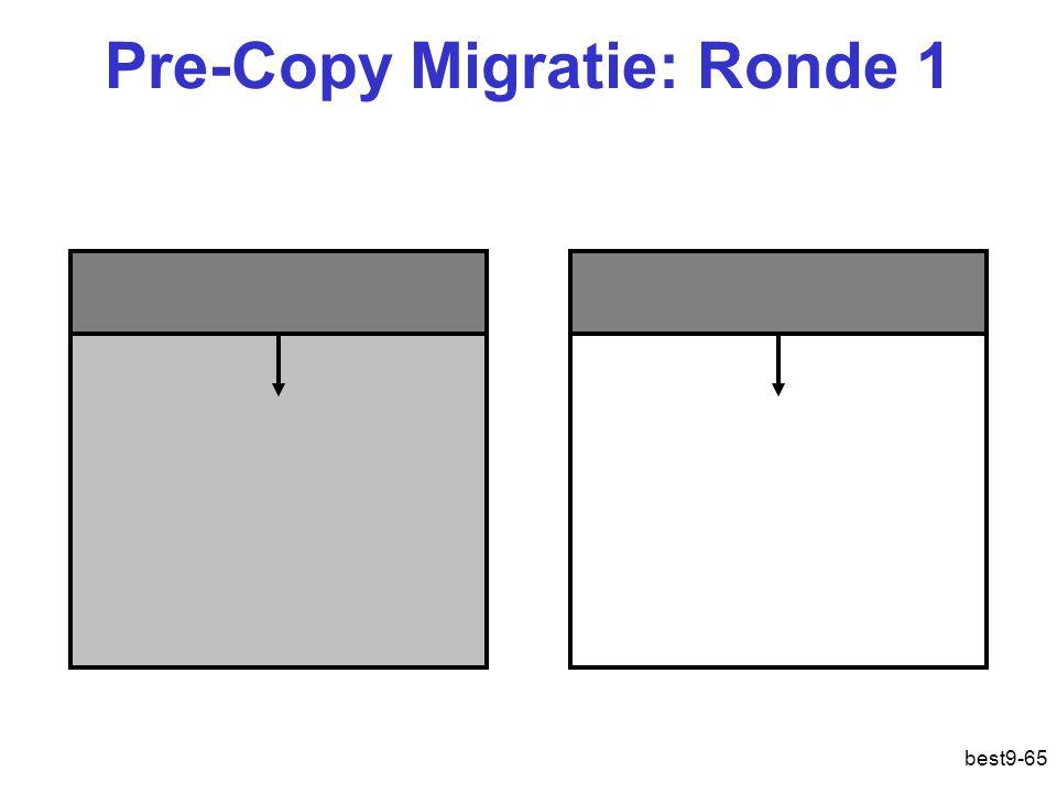Pre-Copy Migratie: Ronde 1 best9-65