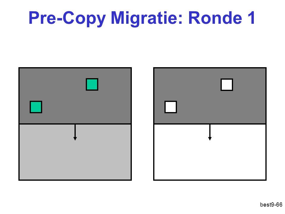 Pre-Copy Migratie: Ronde 1 best9-66