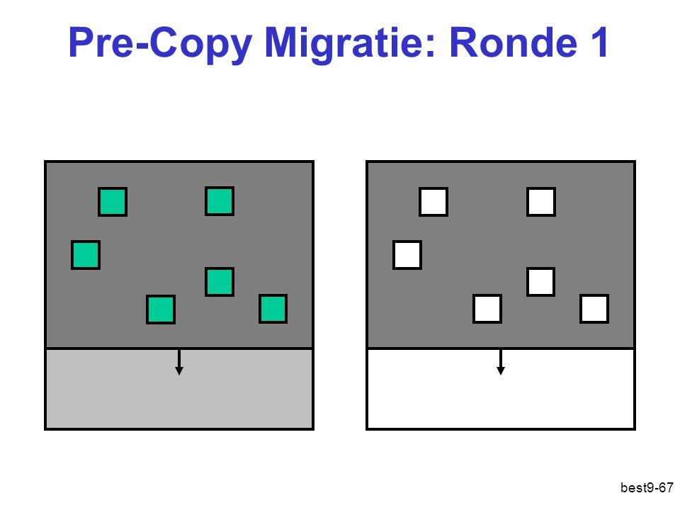 Pre-Copy Migratie: Ronde 1 best9-67