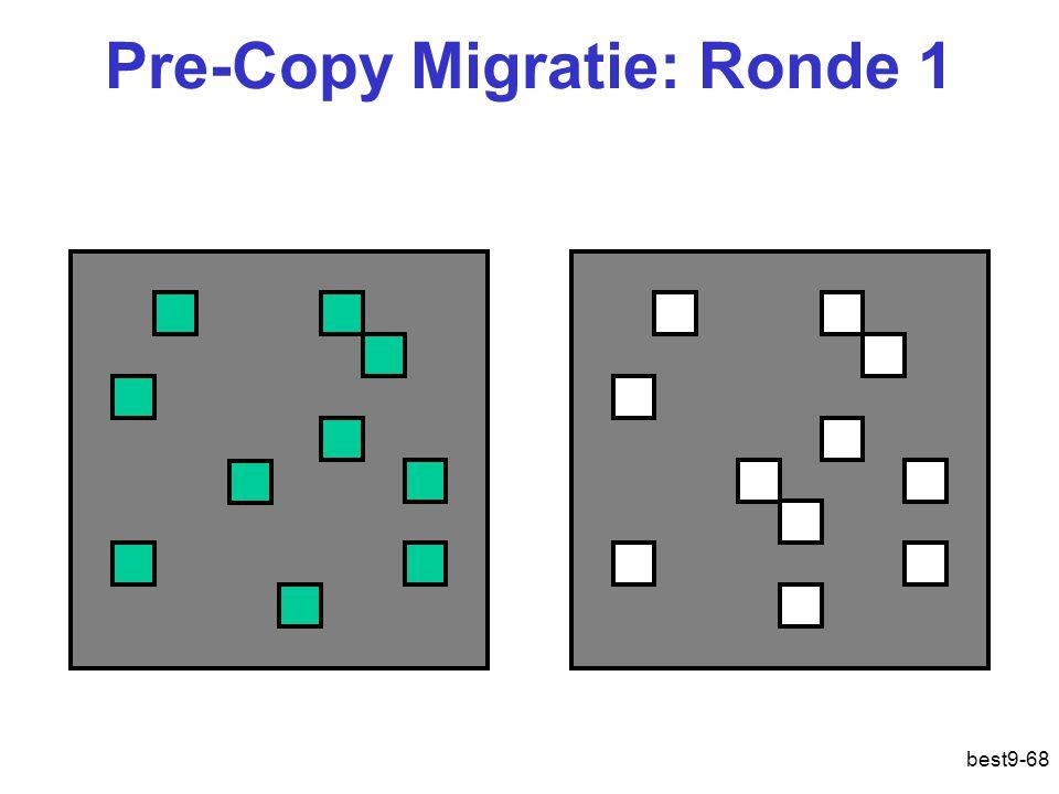 Pre-Copy Migratie: Ronde 1 best9-68