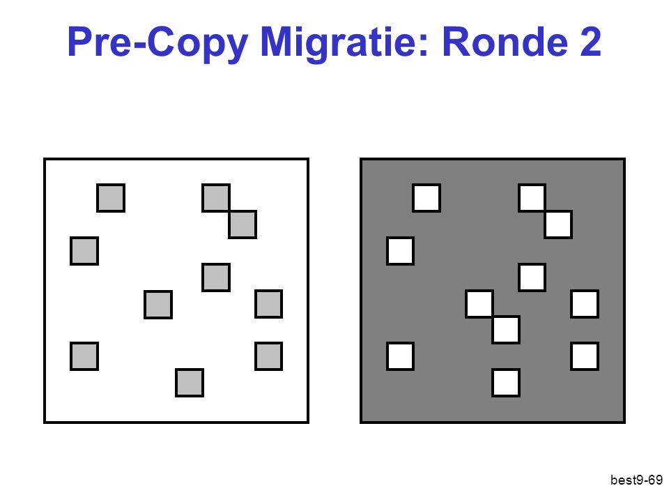 Pre-Copy Migratie: Ronde 2 best9-69