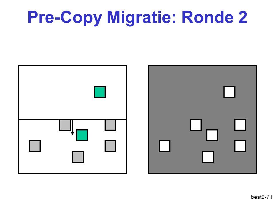Pre-Copy Migratie: Ronde 2 best9-71