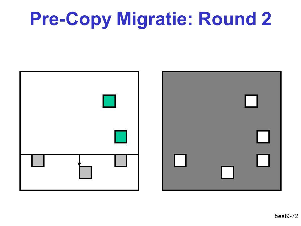 Pre-Copy Migratie: Round 2 best9-72
