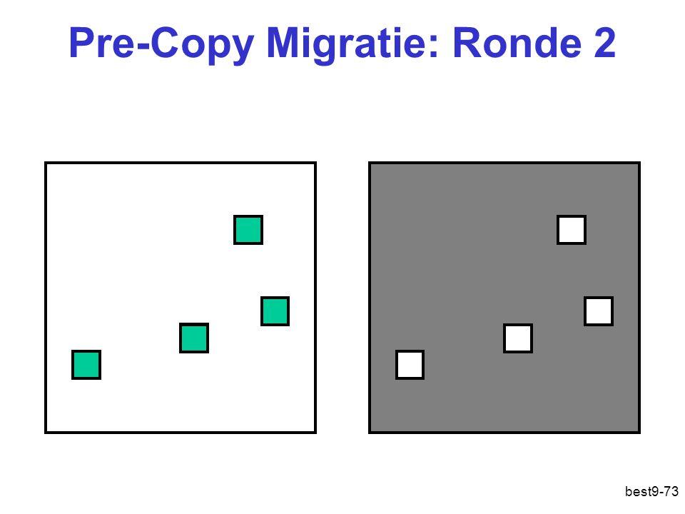 Pre-Copy Migratie: Ronde 2 best9-73