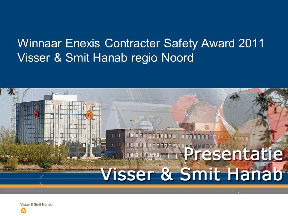 Winnaar Enexis Contracter Safety Award 2011 Visser & Smit Hanab regio Noord