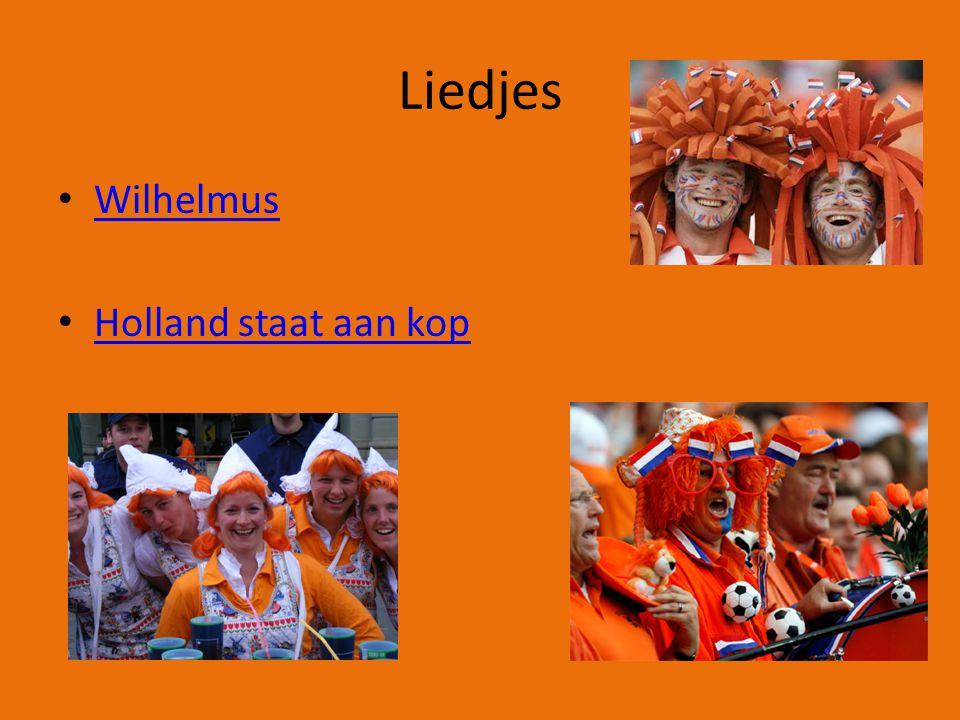 Liedjes Wilhelmus Holland staat aan kop