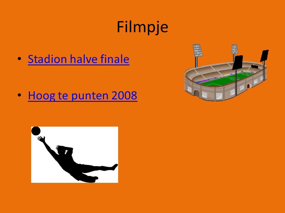 Filmpje Stadion halve finale Hoog te punten 2008