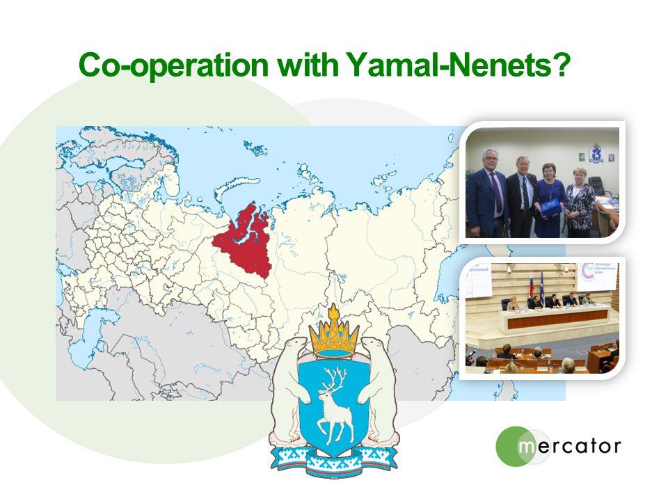 Co-operation with Yamal-Nenets?