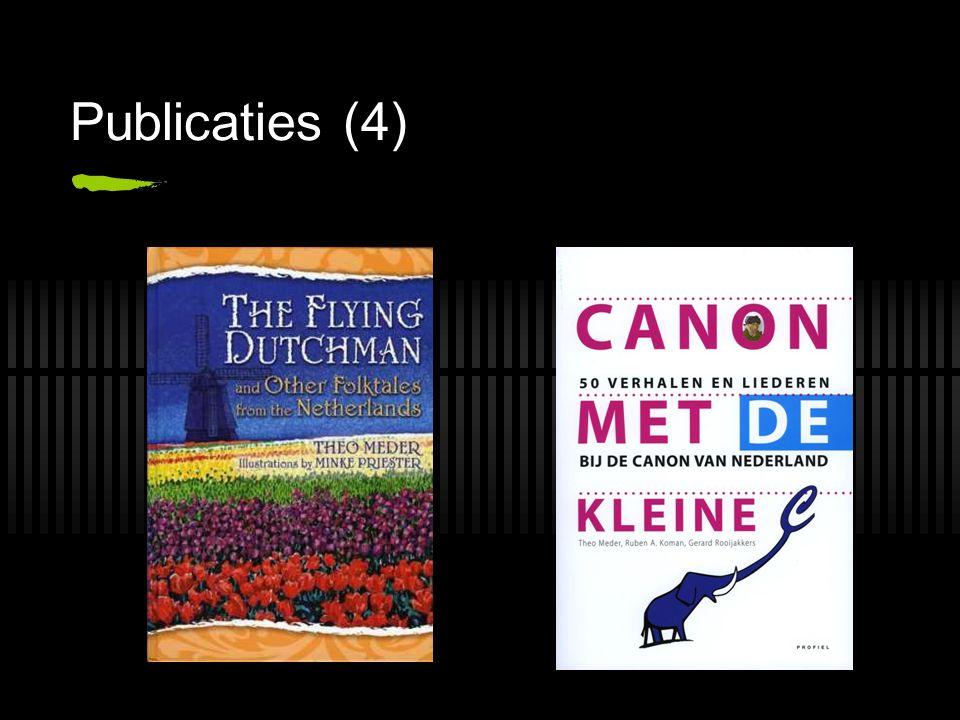 Publicaties (4)