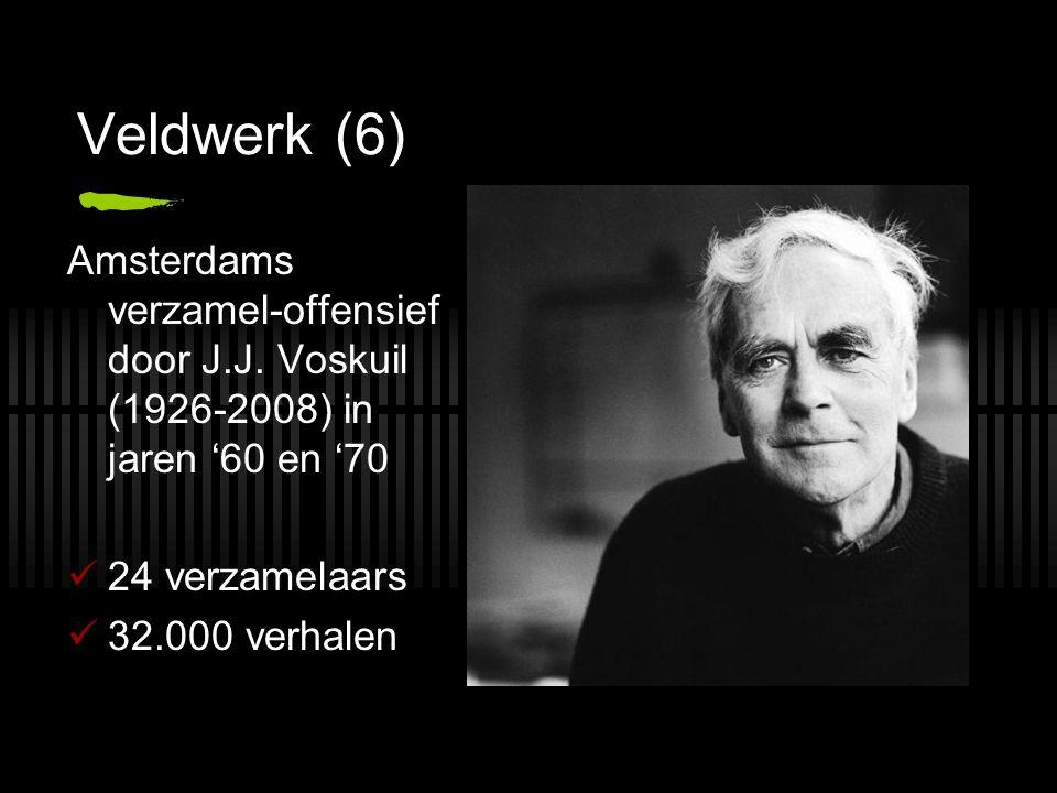 Veldwerk (6) Amsterdams verzamel-offensief door J.J.