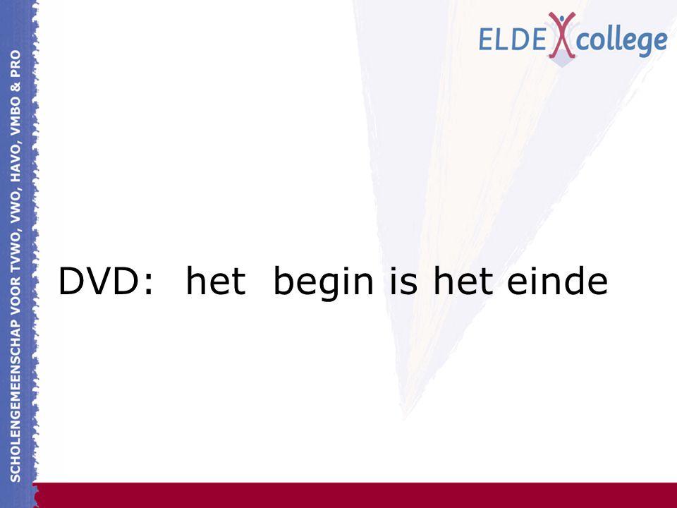 DVD: het begin is het einde