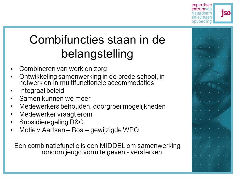 Landelijke stuurgroep (2004) Oplossingen zoeken voor 1.Opleidingen.