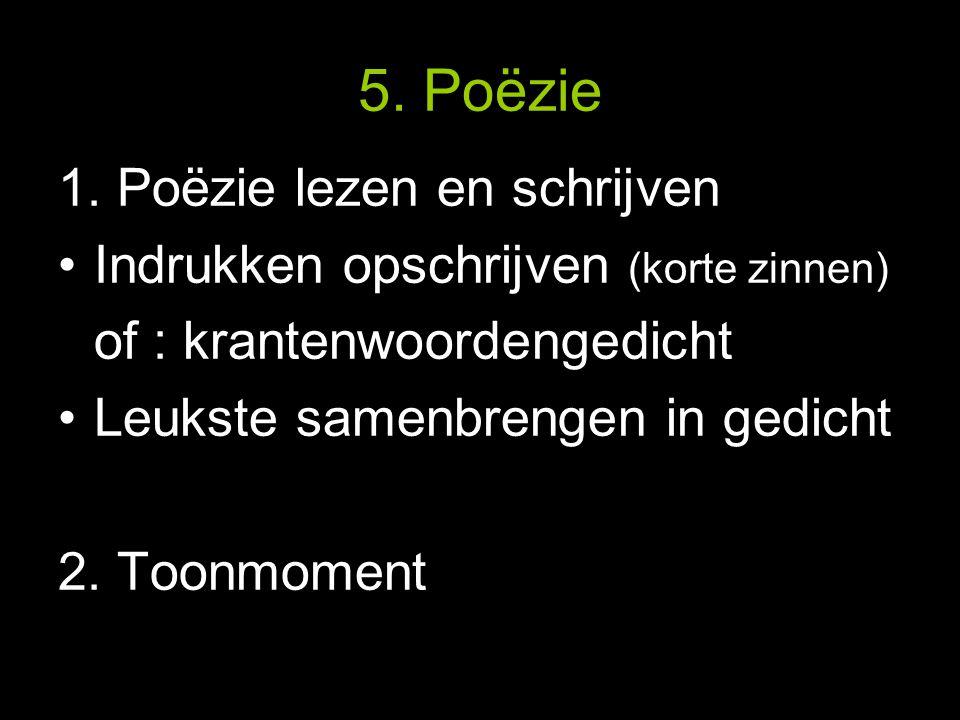 5. Poëzie 1.