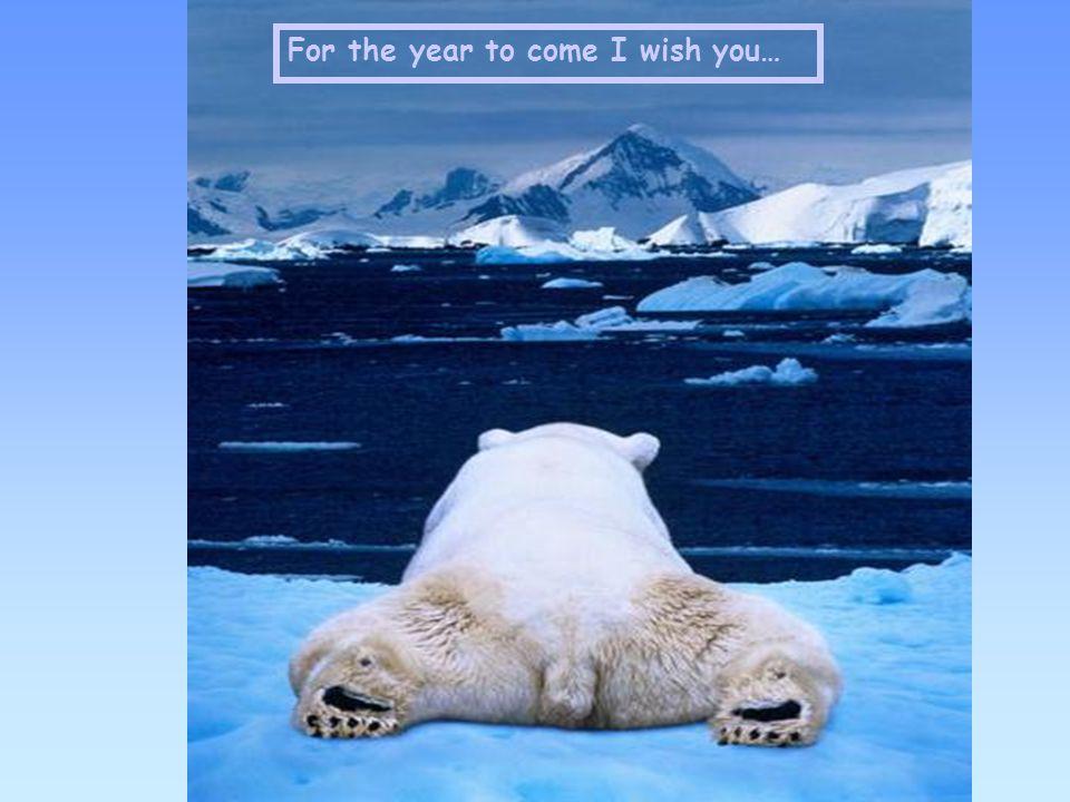 Elk jaar opnieuw… Een beetje meer verwachten Een beetje meer hopen Een beetje dichter komen… bij de wereld van onze dromen