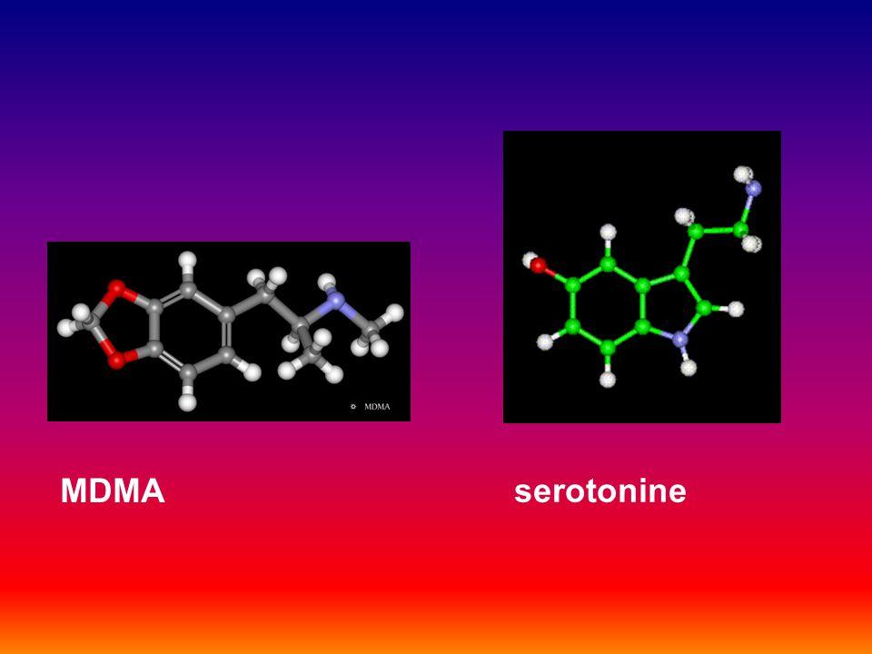 MDMA serotonine