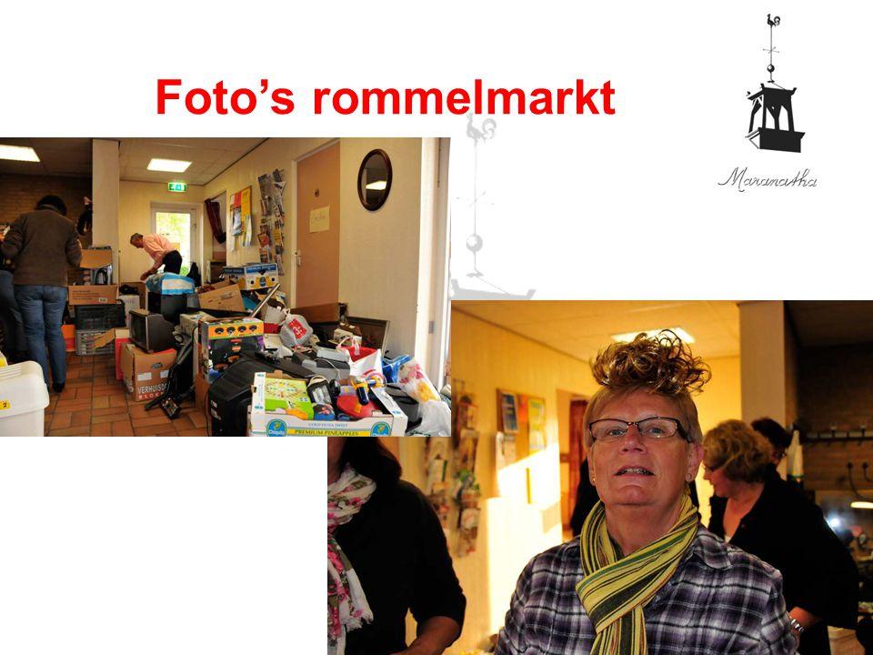 Foto's rommelmarkt