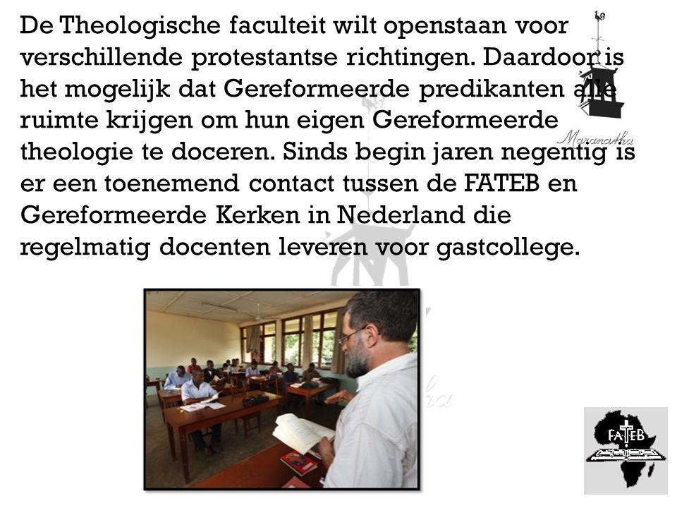 Ds.J. Dekker van de NGK Enschede geeft hier ook les.