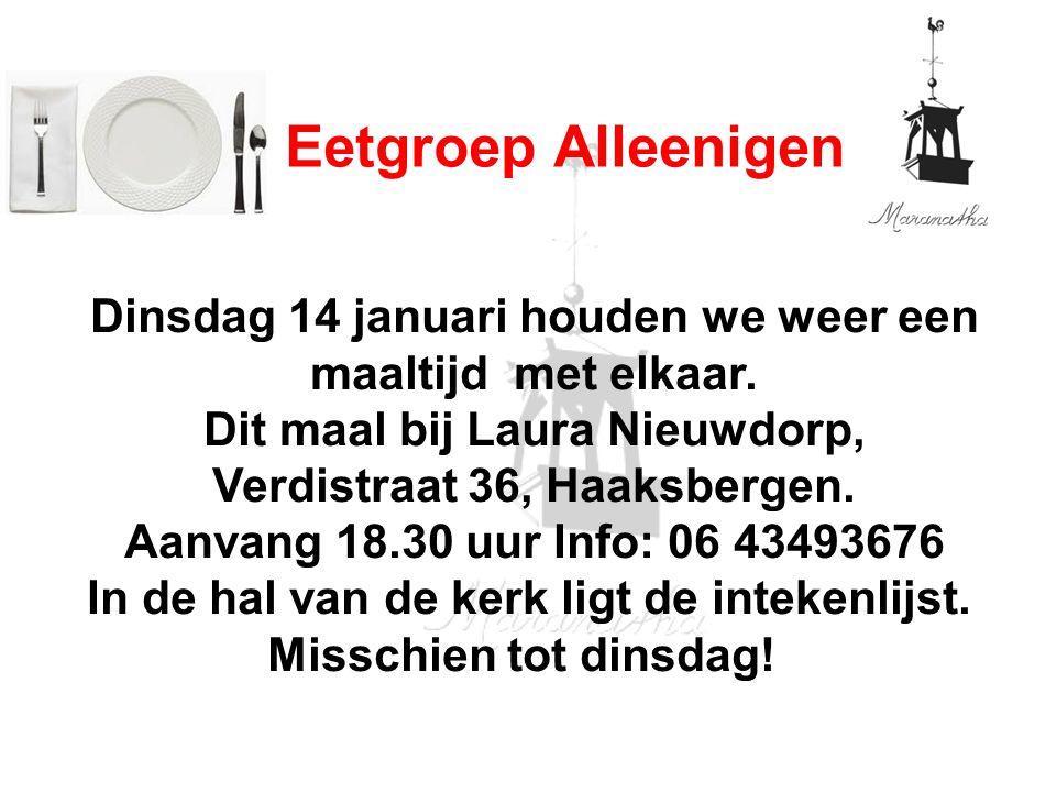 Welke vraag zou jij aan God willen stellen? 15 januari 2014 18:30 uur Enschede Oost GKV